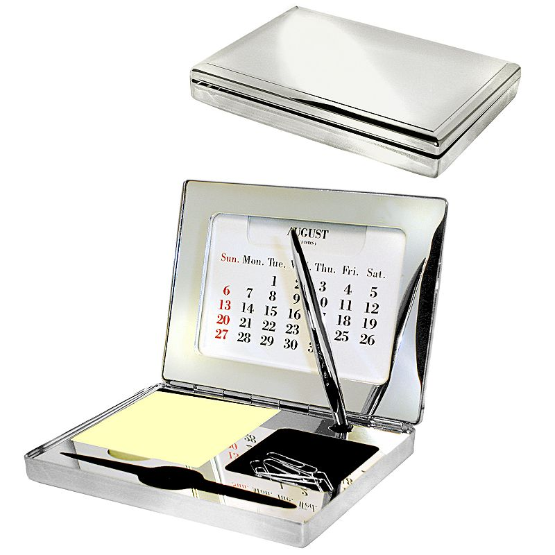 Executive Desk Organizer (Silver)