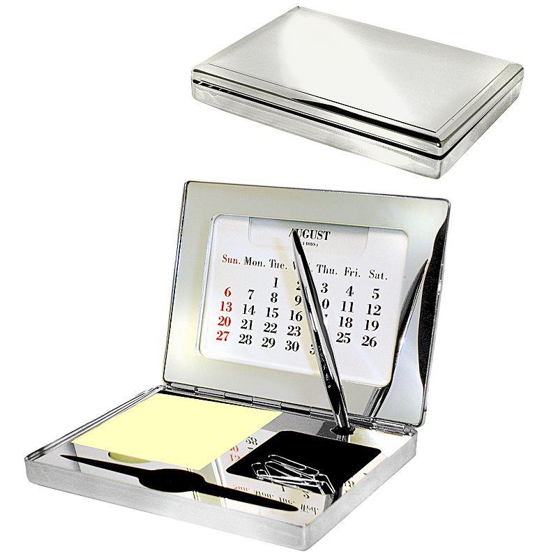 Executive Desk Organizer (Silver)