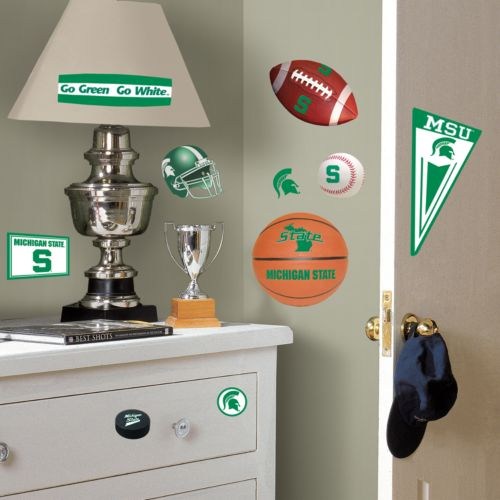 Michigan State Spartans Wall Decals