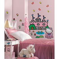 Hello Kitty® Castle Wall Decals