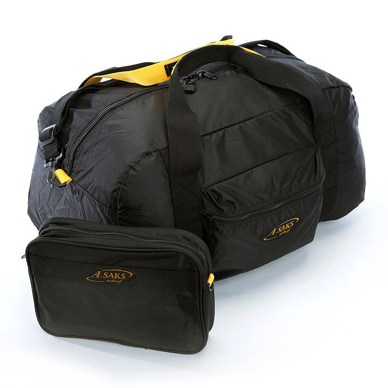 A.Saks 22-in. Two-in-One Duffel Bag