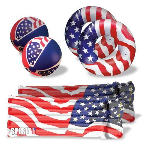 Poolmaster Patriot Stars 'N' Stripes Float Set