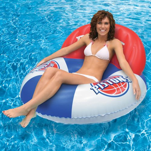 Poolmaster Detroit Pistons Luxury Drifter Pool Float