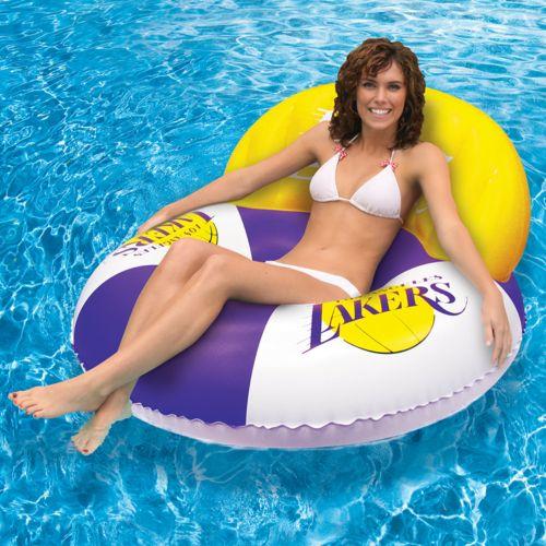 Poolmaster Los Angeles Lakers Luxury Drifter Pool Float