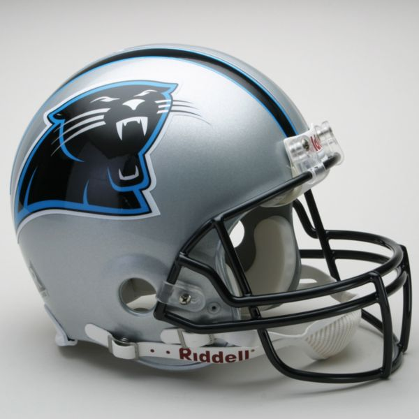 Riddell Carolina Panthers Collectible On-Field Helmet
