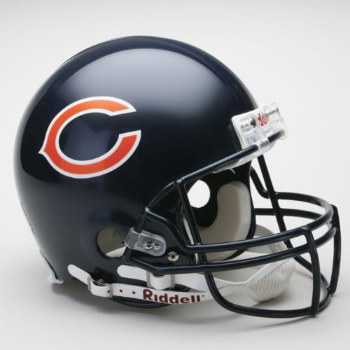 Riddell Chicago Bears Collectible On-Field Helmet