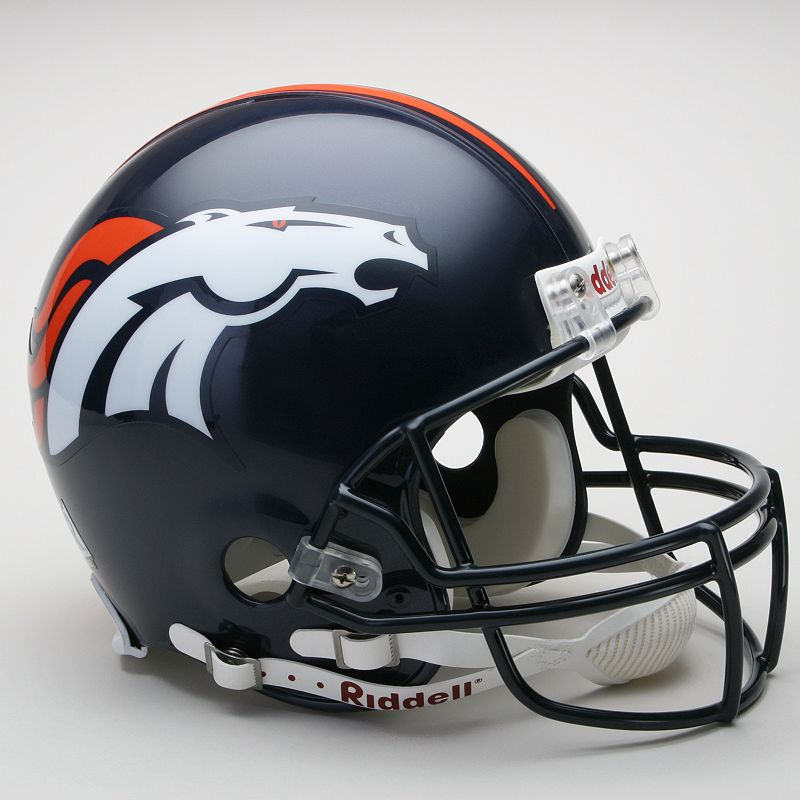 Riddell Denver Broncos Collectible On-Field Helmet