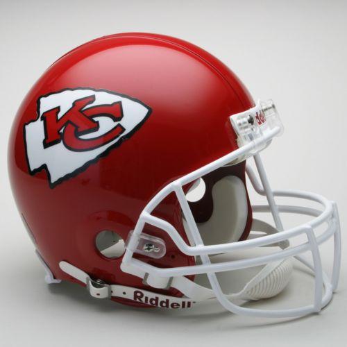 Riddell Kansas City Chiefs Collectible On-Field Helmet