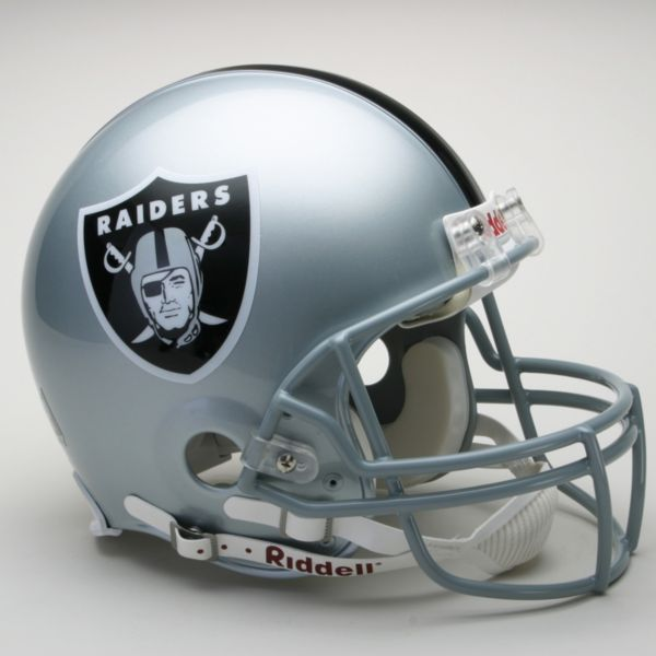 Riddell Oakland Raiders Collectible On-Field Helmet