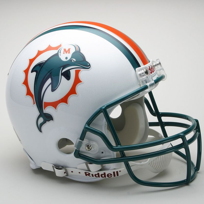 Riddell Miami Dolphins Collectible On-Field Helmet