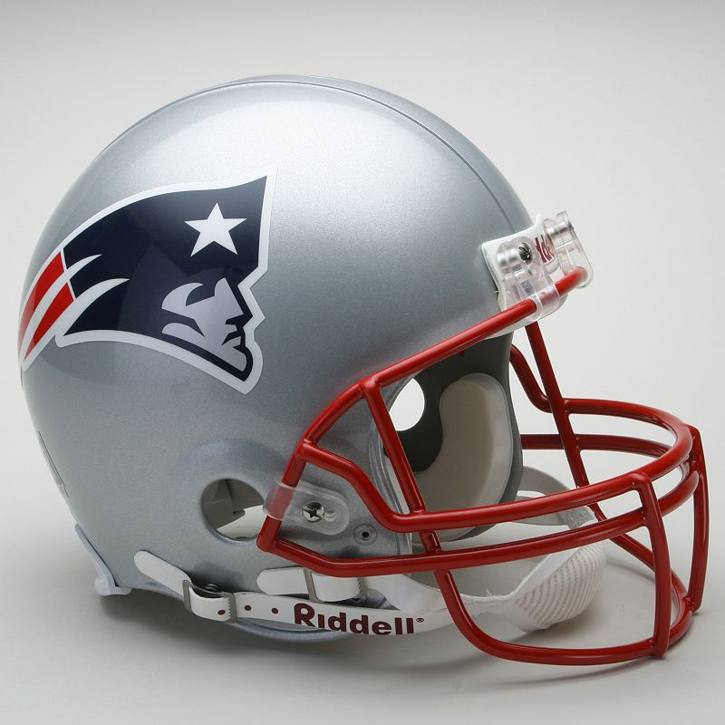 Riddell New England Patriots Collectible On-Field Helmet