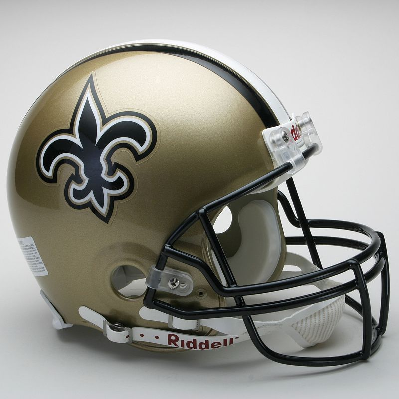Riddell New Orleans Saints Collectible On-Field Helmet