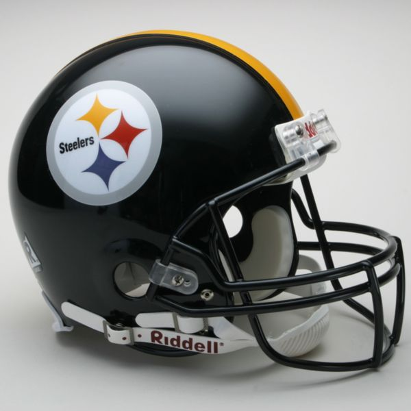 Riddell Pittsburgh Steelers Collectible On-Field Helmet