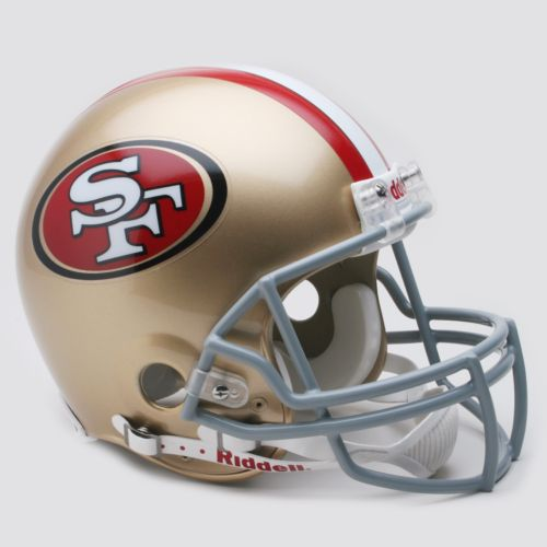 Riddell San Francisco 49ers Collectible On-Field Helmet