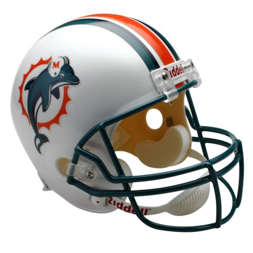 Riddell Miami Dolphins Deluxe Replica Helmet