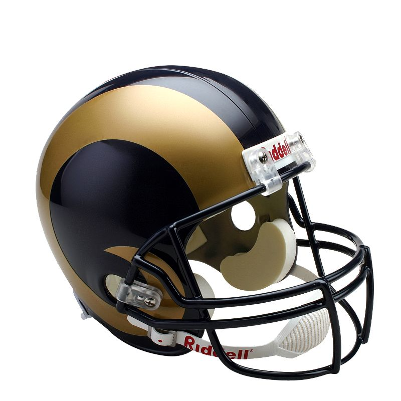 Riddell St. Louis Rams Collectible Replica Helmet