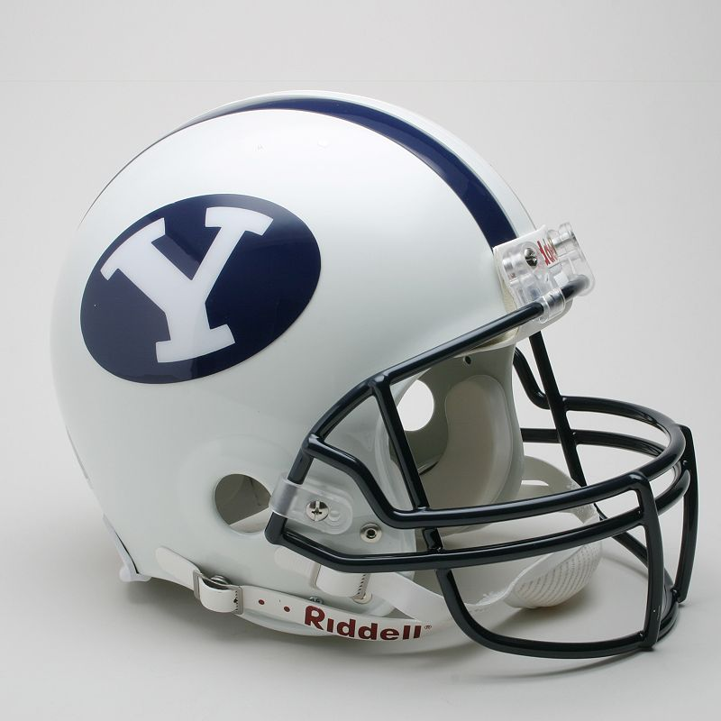 Riddell BYU Cougars Collectible On-Field Helmet