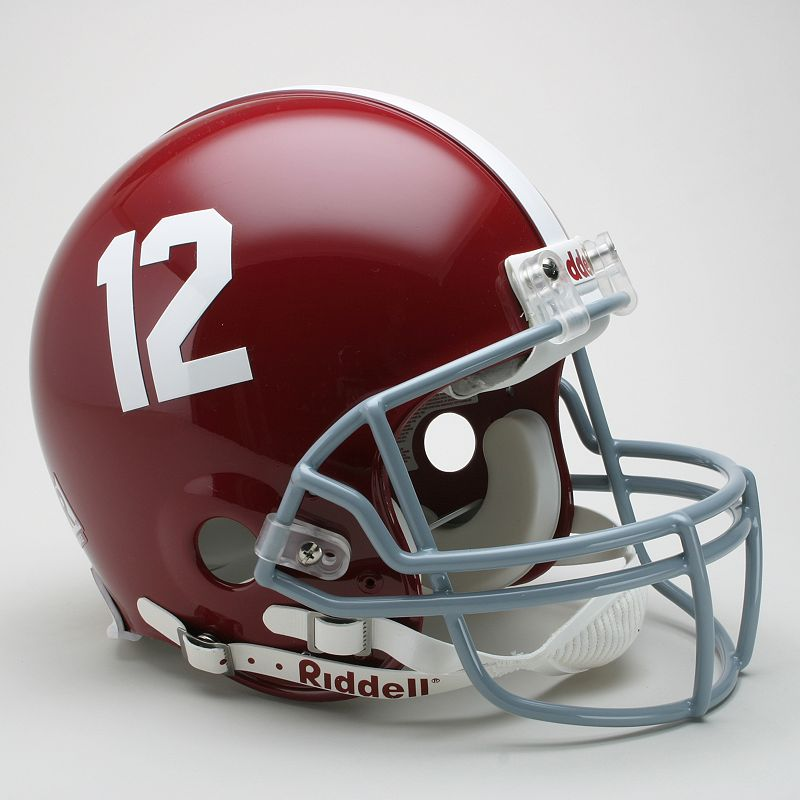 Riddell Alabama Crimson Tide Collectible On-Field Helmet