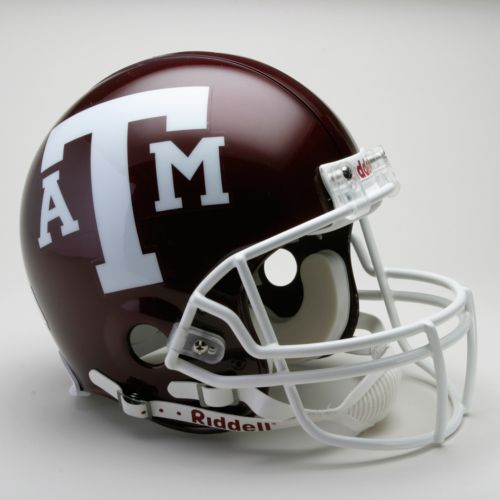Riddell Texas A and M Aggies Collectible On-Field Helmet