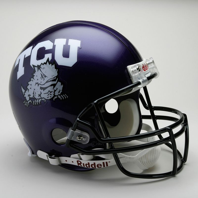 Riddell TCU Horned Frogs Collectible On-Field Helmet