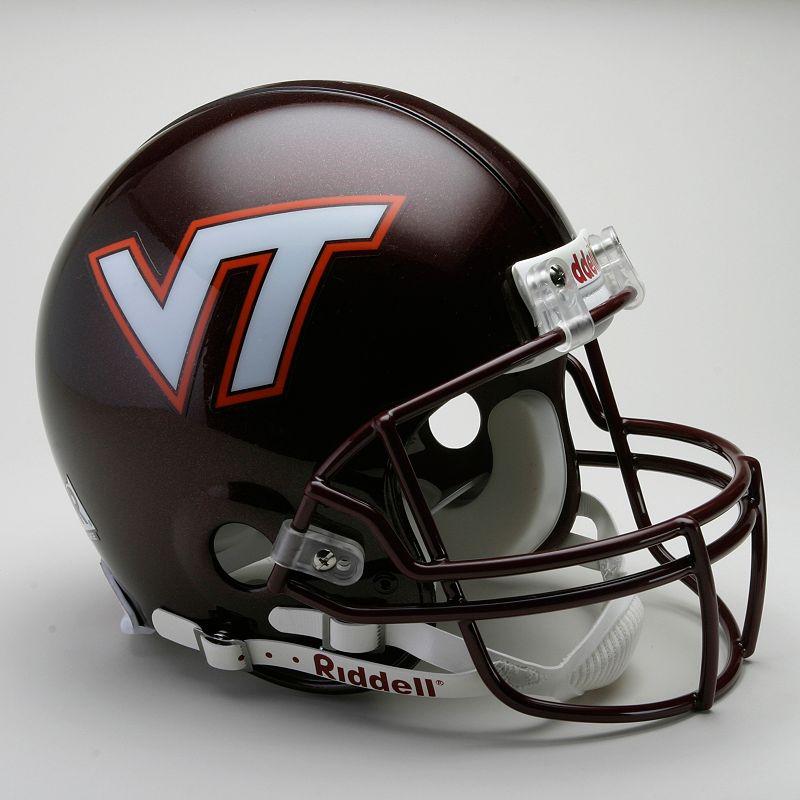 Riddell Virginia Tech Hokies Collectible On-Field Helmet