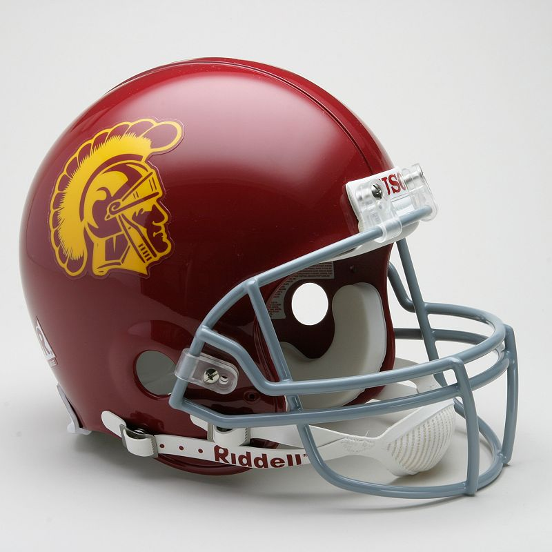 Riddell USC Trojans Collectible On-Field Helmet