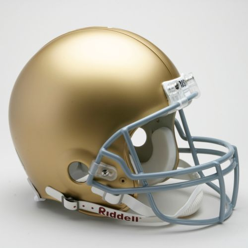 Riddell Notre Dame Fighting Irish Collectible On-Field Helmet