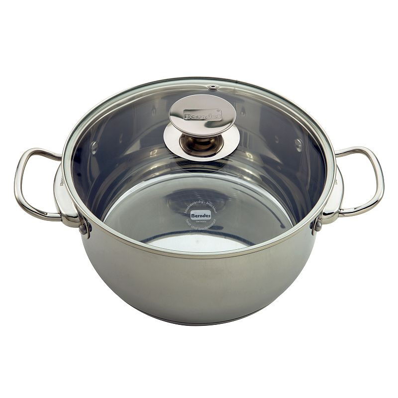Berndes Cucinare Induction 9.1-qt. Stainless Steel Stockpot