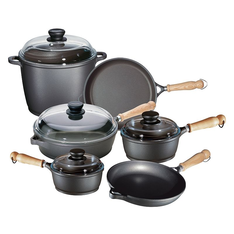 Berndes TRADITION 10-pc. Nonstick Aluminum Cookware Set