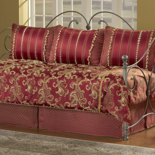 Crawford 5-pc. Paisley Daybed Comforter Set