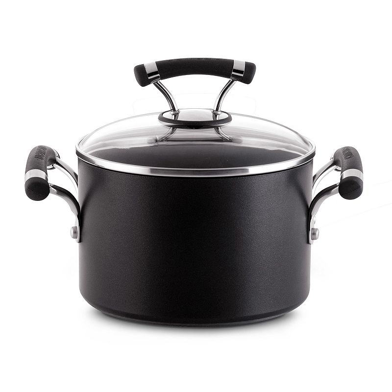 Circulon Contempo 3-qt. Nonstick Hard-Anodized Saucepot