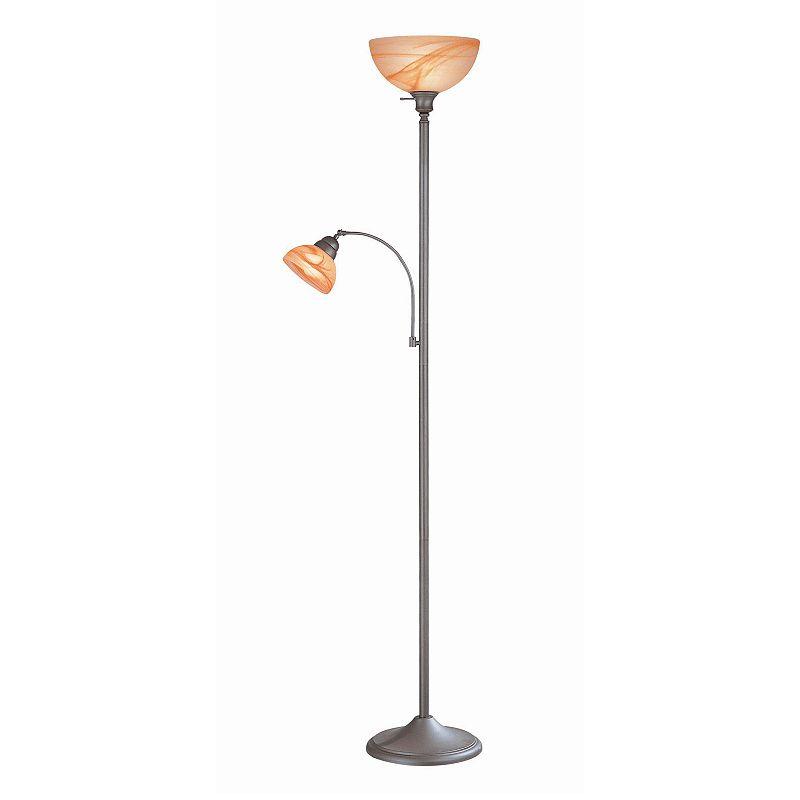 Marblesk Torchiere Floor Lamp