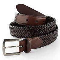 Dockers® Tubular Stretch Braided Leather Belt