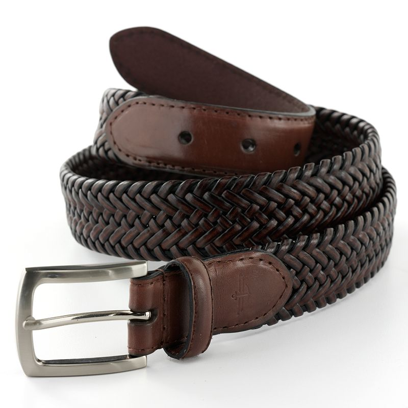 Dockers® Tubular Stretch Braided Leather Belt