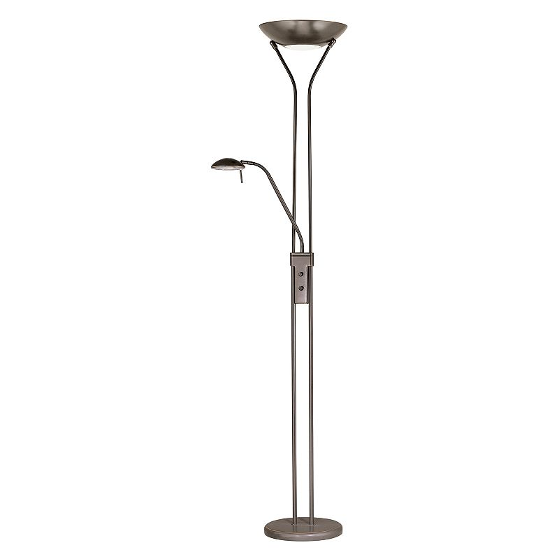 Duality Torchiere and Reading Floor Lamp