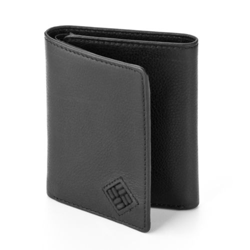 Columbia Leather Trifold Wallet