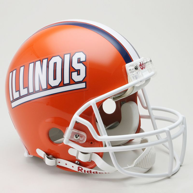 Riddell Illinois Fighting Illini Collectible Replica Helmet