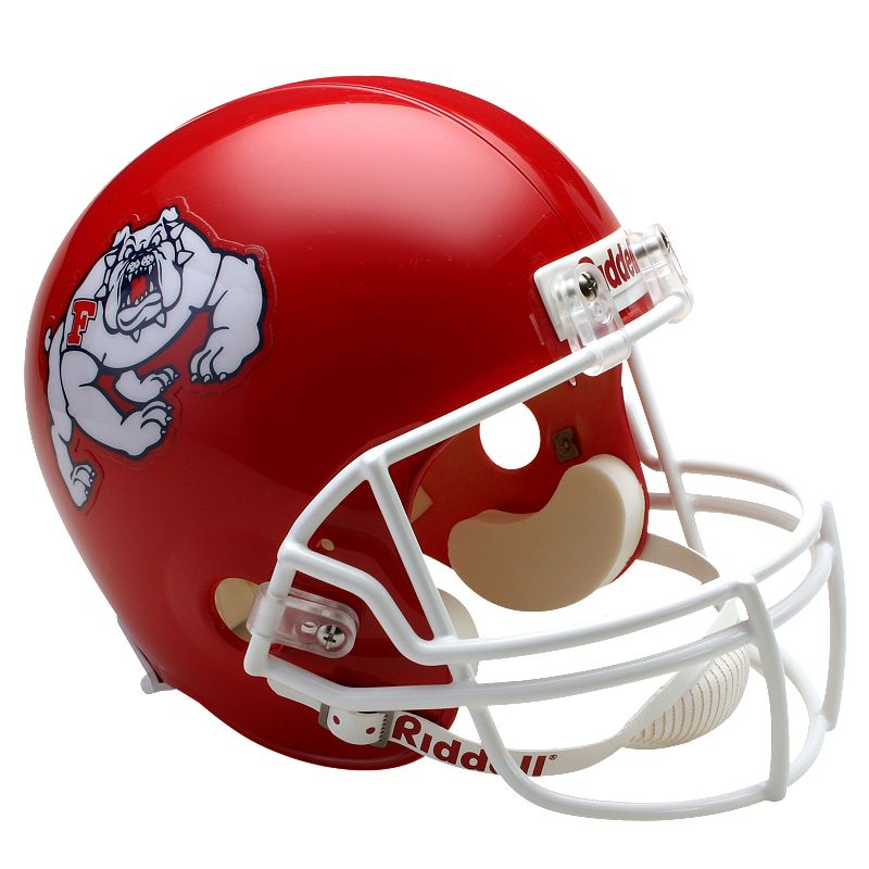 Riddell Fresno State Bulldogs Collectible Replica Helmet