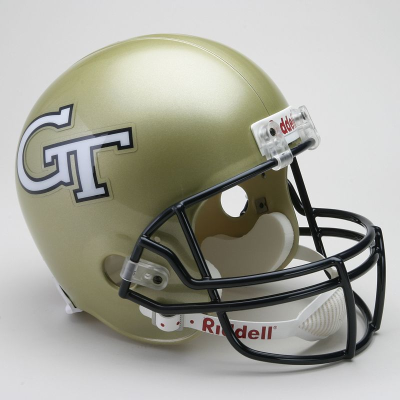 Riddell Georgia Tech Yellow Jackets Collectible Replica Helmet