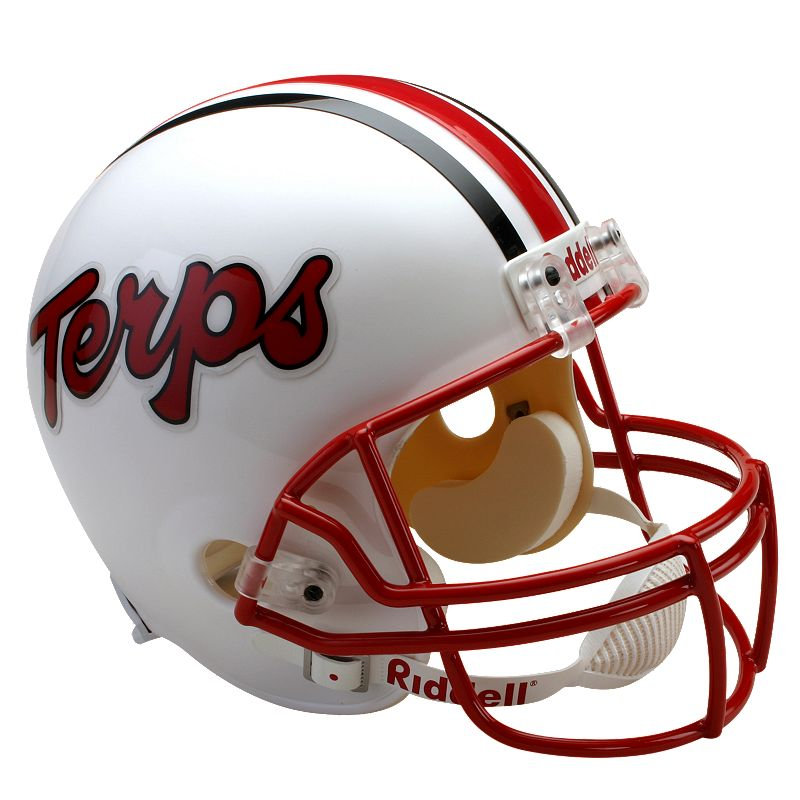 Riddell Maryland Terrapins Collectible Replica Helmet