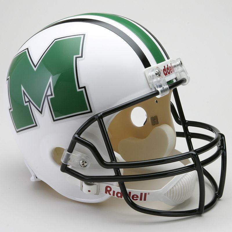 Riddell Marshall Thundering Herd Collectible Replica Helmet