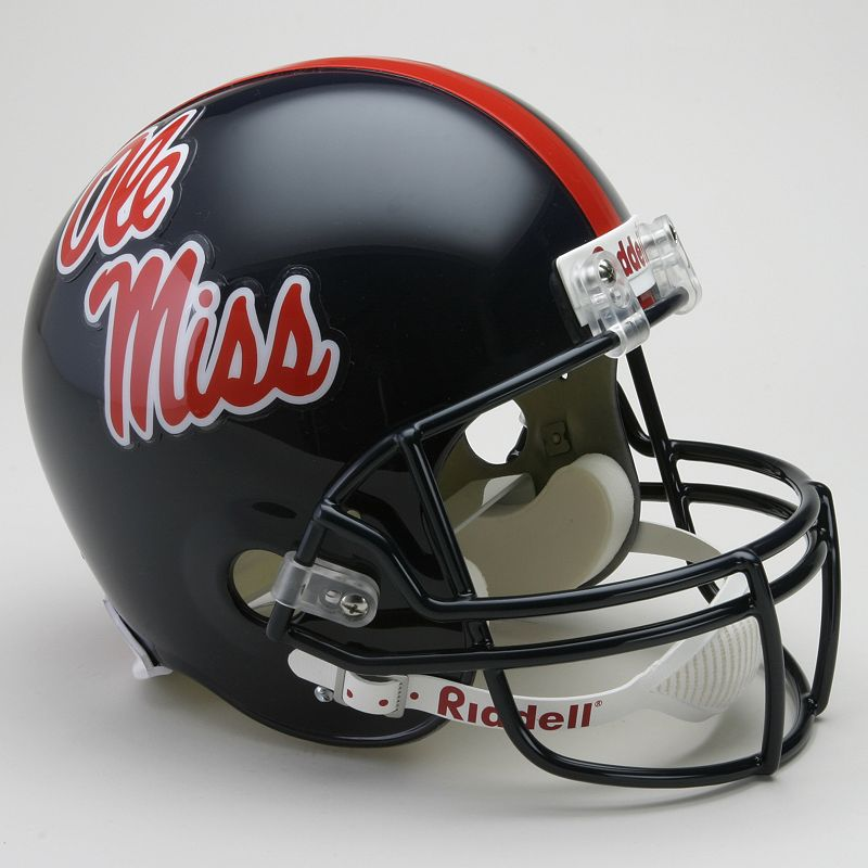 Riddell Ole Miss Rebels Collectible Replica Helmet