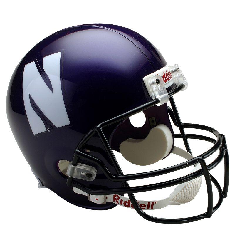 Riddell Northwestern Wildcats Collectible Replica Helmet