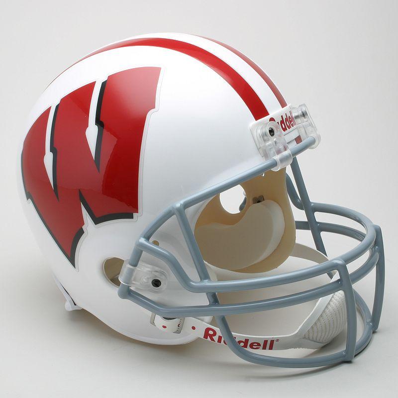 Riddell Wisconsin Badgers Collectible Replica Helmet