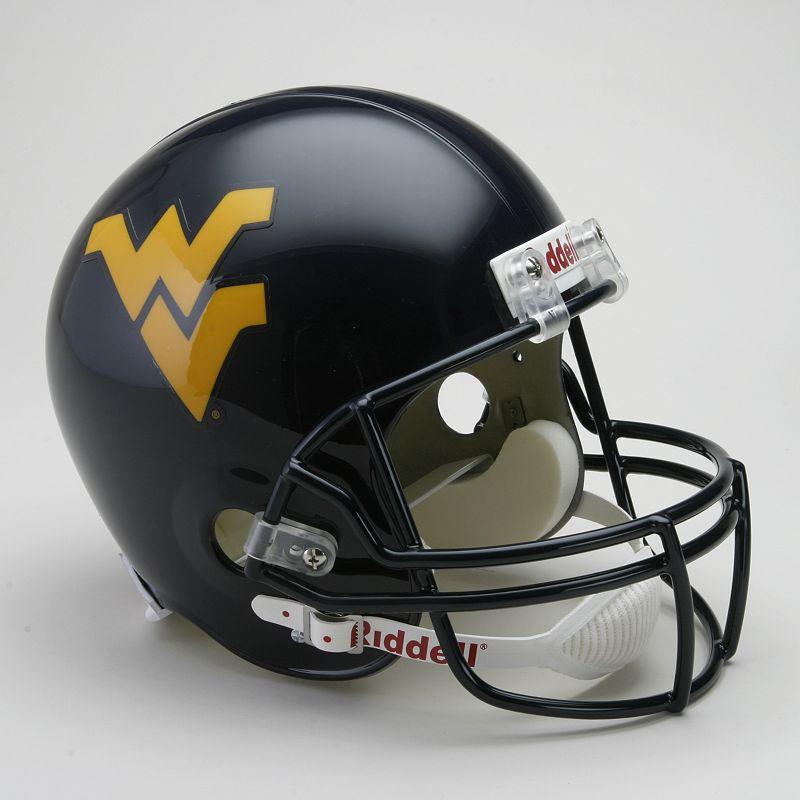 Riddell West Virginia Mountaineers Collectible Replica Helmet