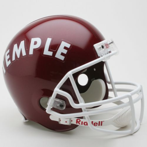 Riddell Temple Owls Collectible Replica Helmet