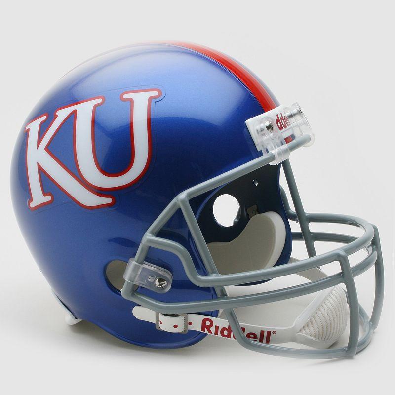 Riddell Kansas Jayhawks Collectible Replica Helmet