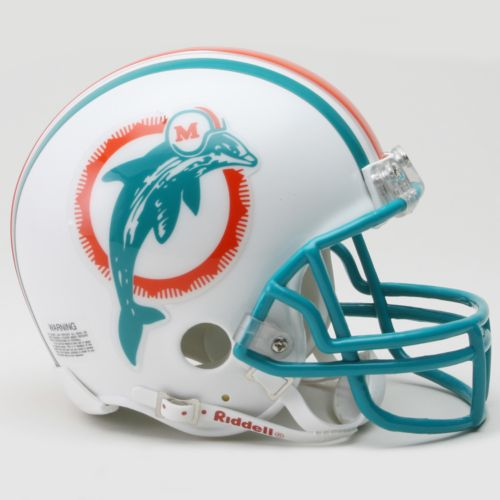 Riddell Miami Dolphins '80-'96 Throwback Mini Helmet