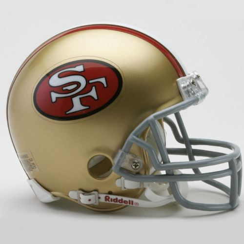 Riddell San Francisco 49ers '64-'95 Throwback Mini Helmet