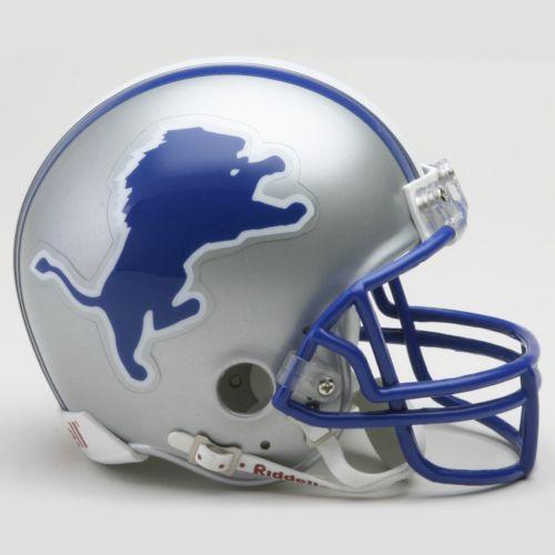 Riddell Detroit Lions '83-'02 Throwback Mini Helmet